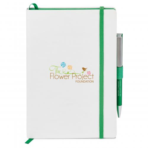 Hard Cover Journal Combo green